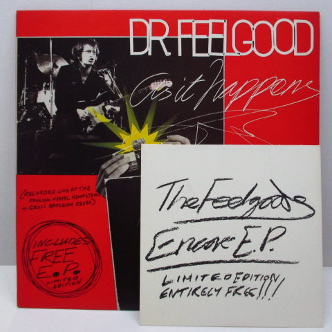 "DR.FEELGOOD - As It Happens (UK Orig.LP+7""-EP)"