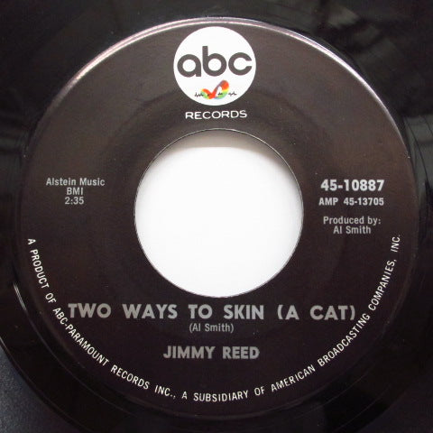 JIMMY REED - Two Ways To Skin (A Cat)  (Orig.)