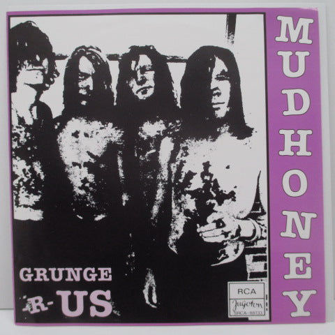 "MUDHONEY  - Grunge 'R' Us (US Bootleg.Dark Red Vinyl 7"")"