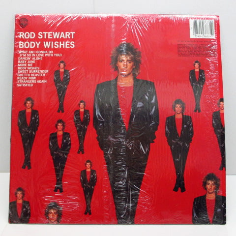 ROD STEWART (ロッド・スチュワート)  - Body Wishes (US Orig.LP)
