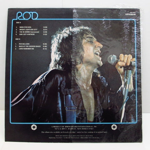 ROD STEWART (STEAMPACKET) (ロッド・スチュワート)  - Rod Stewart & Steampacket (US Orig.LP)