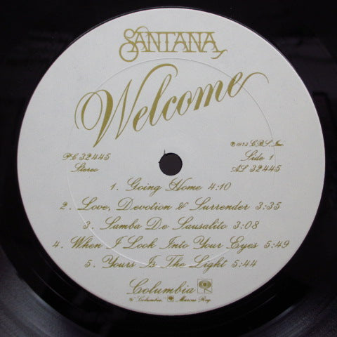 SANTANA - Welcome (US:Orig.)