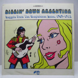 V.A. - Diggin' Down Argentina Nuggets From The Rioplatense Scene, 1969-1975 (Spain Orig.LP)