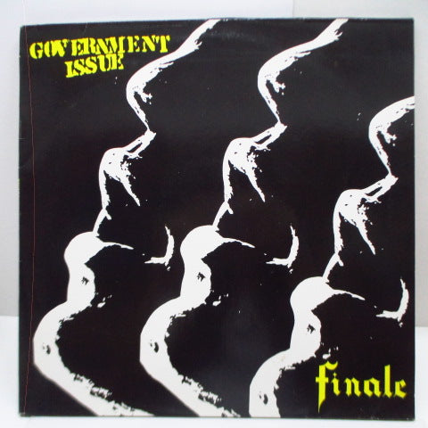 GOVERNMENT ISSUE - Finale (German Ltd.Clear Vinyl 2xLP)