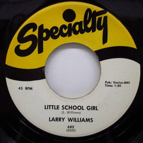 LARRY WILLIAMS - Ting-A-Ling / Little School Girl