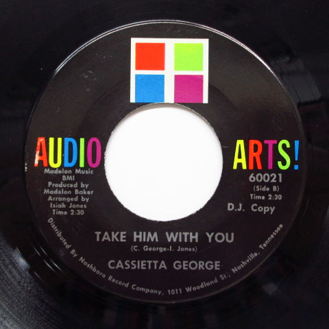 CASSIETTA GEORGE - Take Him With You (Promo)