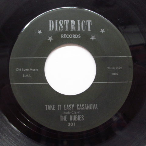 RUBIES - Take It Easy Casanova (Orig)