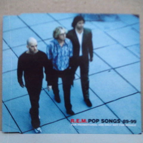 R.E.M. - Pop Songs 89-99 (UK Promo.CD)