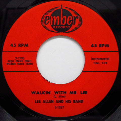 LEE ALLEN & HIS BAND - Walkin' WIth Mr.Lee / Promenade