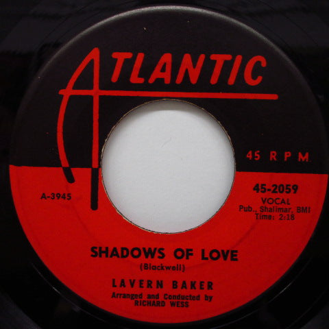 LAVERN BAKER - Shadow Of Love / Wheel Of Fortune