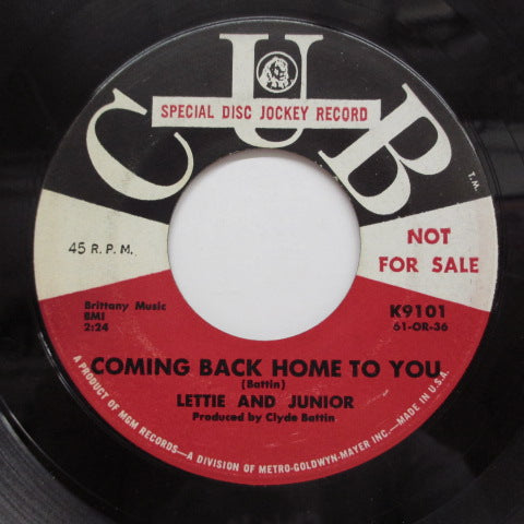 LETTIE & JUNIOR - Blues In The Night (Promo)
