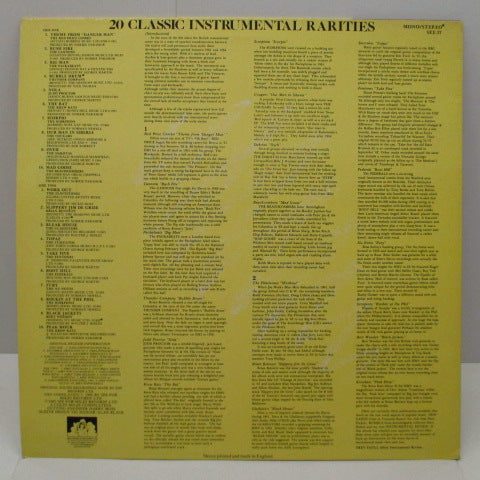 V.A. - 20 Classic Instrumental Rarities (UK Orig.LP)