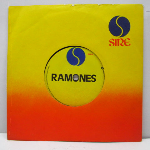 "RAMONES - Are Here...And There (UK Promo 7""/NOPS)"