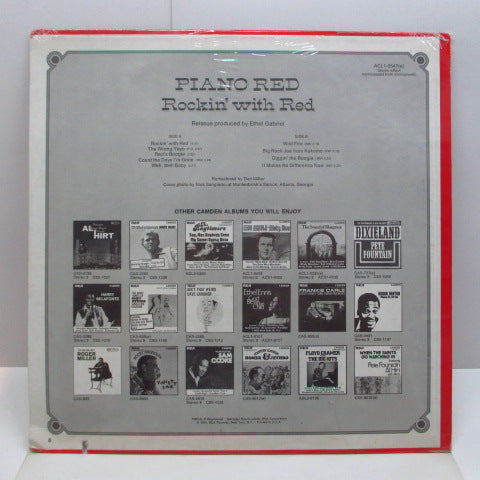 PIANO RED (DR.FEELGOOD) - Rockin' With Red (US Orig.LP/Seald)