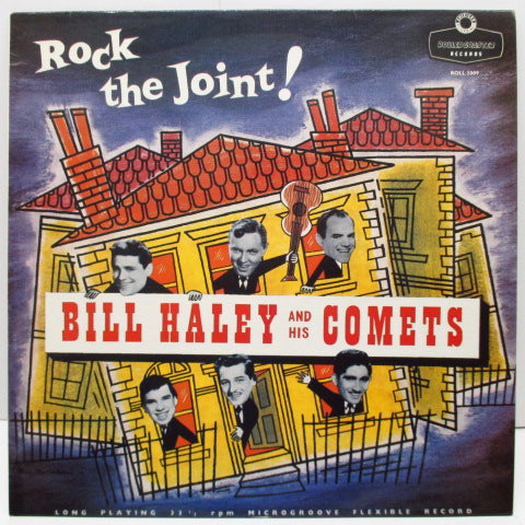 BILL HALEY & HIS COMETS - Rock The Joint! (UK 80's マルーン・ラベ LP)