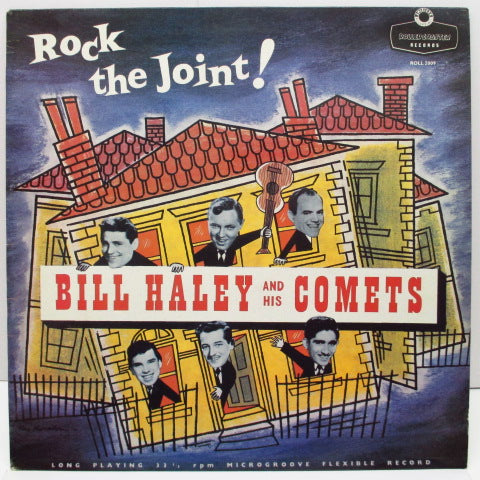 BILL HALEY & HIS COMETS - Rock The Joint! (黒×金ラベ)