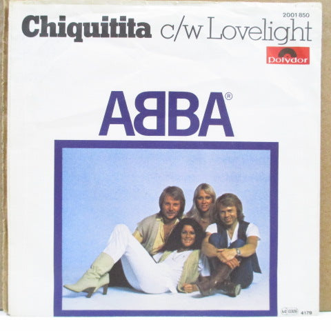 "ABBA - Chiquitita (Germany Orig.7""+PS/Paper Lbl.)"