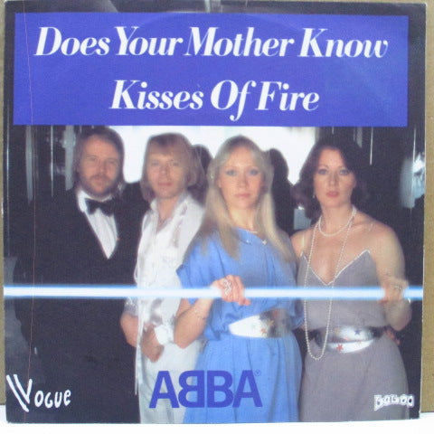 "ABBA - Does Your Mother Know (France Orig.7""+PS)"
