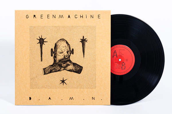 GREENMACHiNE - D.A.W.N (Black Vinyl LP/予約商品)