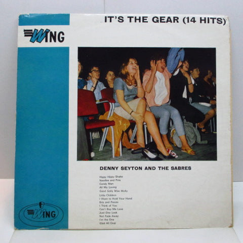 DENNY SEYTON & THE SABRES - I'ts The Gear (14 Hits) (UK Orig.Mono LP)