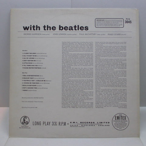 BEATLES - With The Beatles (UK 70's 2xEMI Stereo LP/CS)