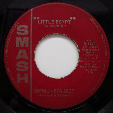 "DOWNLINERS SECT - Little Egypt / Sect Appeal (US Orig.7""+CS)"