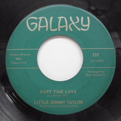 LITTLE JOHNNY TAYLOR - Somewhere Down The Line (Orig)