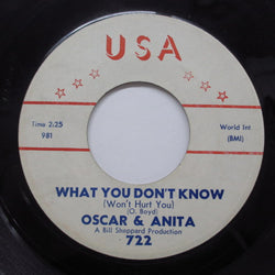OSCAR & ANITA - What You Don't Know (US Orig)