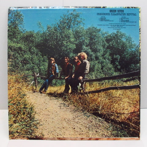 CREEDENCE CLEARWATER REVIVAL (CCR) - Green River (US Orig. FANT Catalog Number LP)