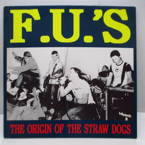 F.U.'S - The Origin Of The Straw Dogs (German Orig. 2xLP)