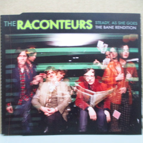 RACONTEURS, THE - Steady, As She Goes (UK/Ireland Orig.CD-Single)