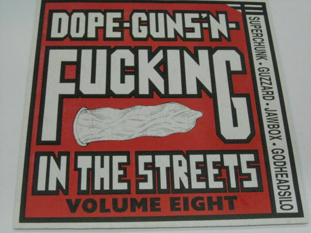 "V.A. - Dope-Guns'-n-Fucking In The Streets Vol.8 (US Ltd.Purple Vinyl 7"")"