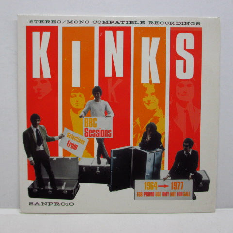 KINKS - Selections From BBC Sessions 1964 - 1977 (UK PROMO)