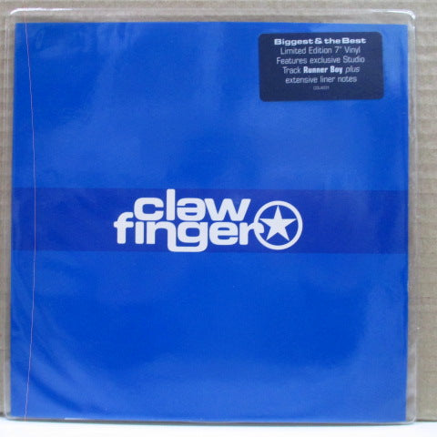 "CLAWFINGER - Biggest & The Best (UK Orig.Blue Vinyl 7"")"