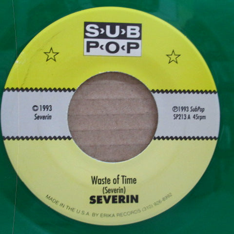 "SEVERIN - Beagles! Beagles! (US 2,000 Ltd.Clear Green Vinyl 7"")"