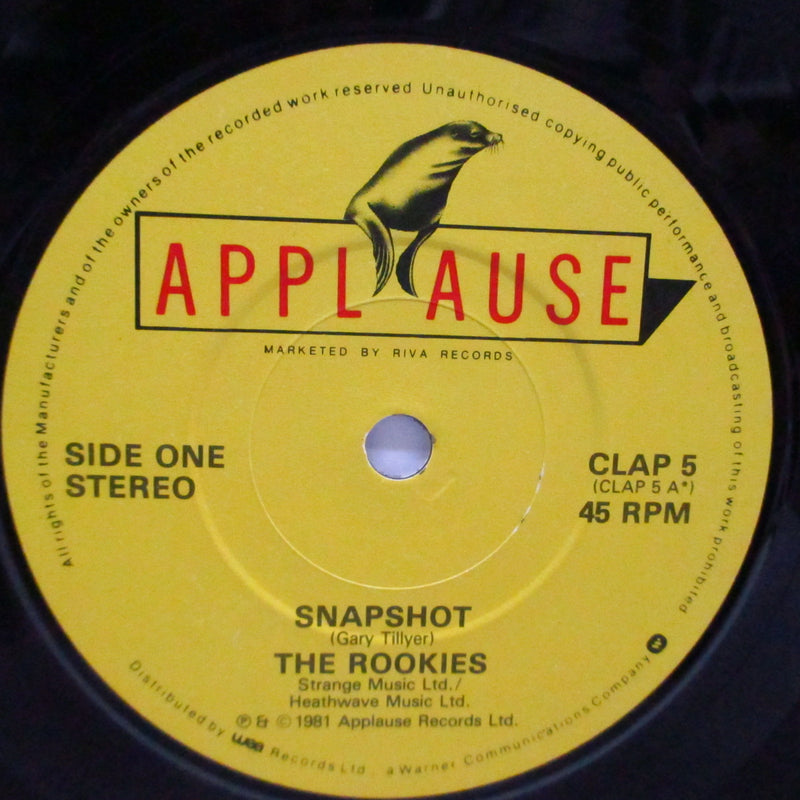 "ROOKIES, THE - What The Papers Say / Snapshot (UK Orig.7"")"