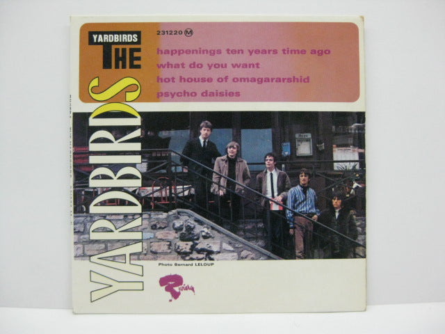 YARDBIRDS - Happenings Ten Years Time Ago (FRENCH EP)