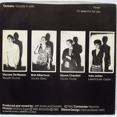 "OUTSETS - I'm Searchin For You (US Orig.7"")"