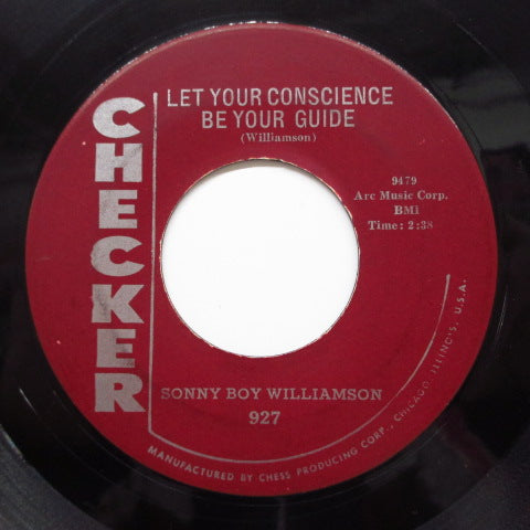 SONNY BOY WILLIAMSON - Let Your Conscience Be Your Guide (Orig)