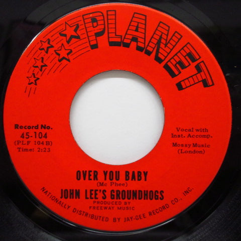 "JOHN LEE'S GROUNDHOGS - I'll Never Fall In Love Again (US Orig.7"")"