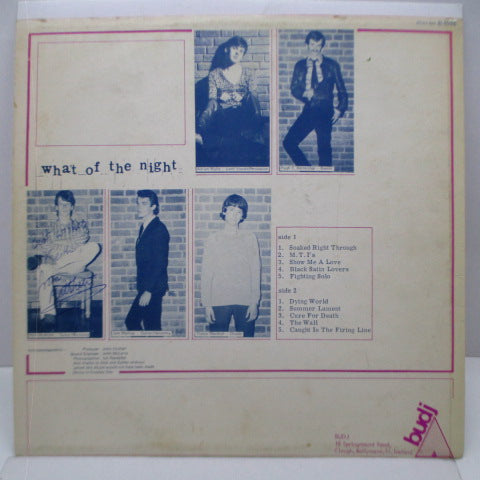 WHAT OF THE NIGHT - S.T. (Ireland Orig.LP/Autographed CS)