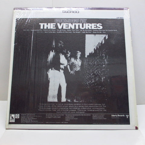 VENTURES - Underground Fire (US Orig.)
