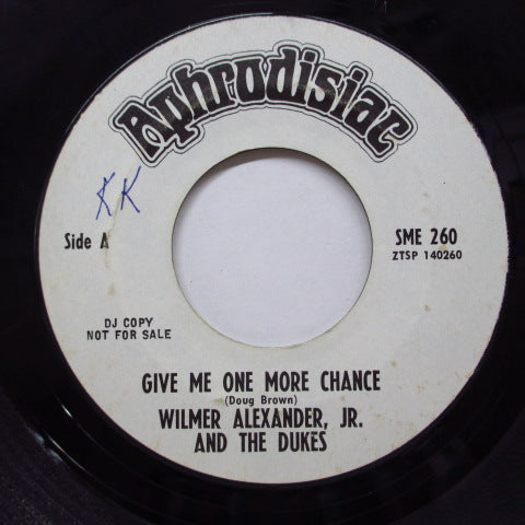 WILMER AND THE DUKES - Give Me One More Chance (Promo)