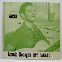 LONNIE DONEGAN & HIS SKIFFLE GROUP - Hit Parade (UK EP)