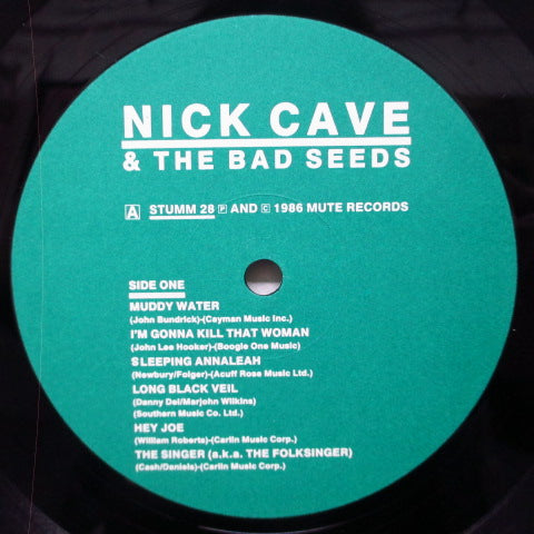NICK CAVE AND THE BAD SEEDS-Kicking Against The Pricks (UK Orig.LP)