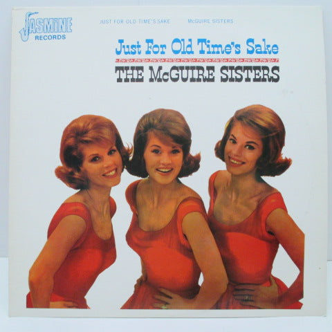 McGUIRE SISTERS - Just For Old Time's Sake
