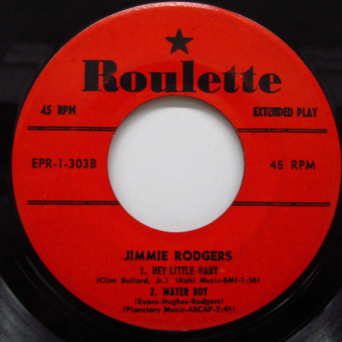 JIMMIE RODGERS - Woman From Liberia +3 (US EP)