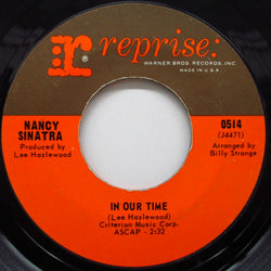 NANCY SINATRA - In Our Time / Leave My Dog Alone