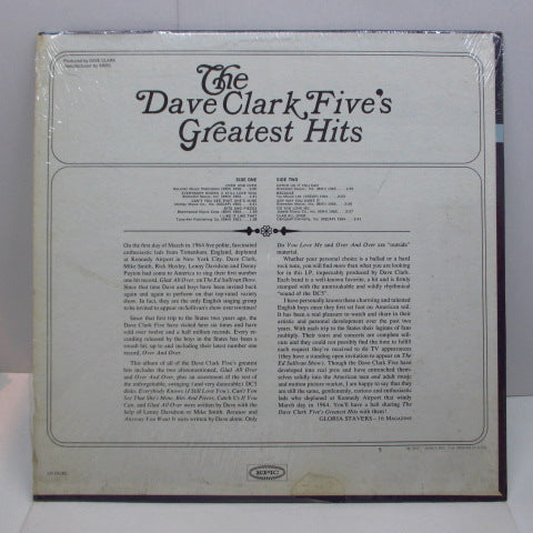 DAVE CLARK FIVE - Greatest Hits (US Orig.MONO)