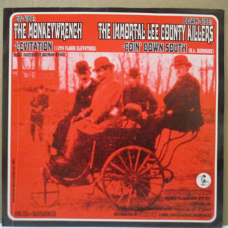 "MONKEYWRENCH, THE / THE IMMORTAL LEE COUNTRY KILLERS - Levitation / Goin' Down South (UK Orig.7""+PS)"